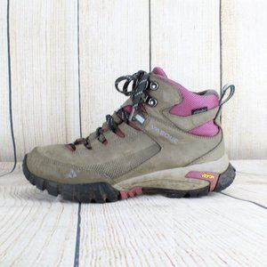 Vasque Waterproof Hiking Boots Lace Up Shoes